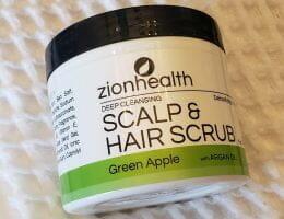 Zion Health Deep Cleansing Scalp and Hair Scrub