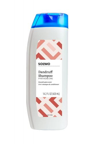 Solimo 2-in-1 Dandruff Shampoo and Conditioner for Men