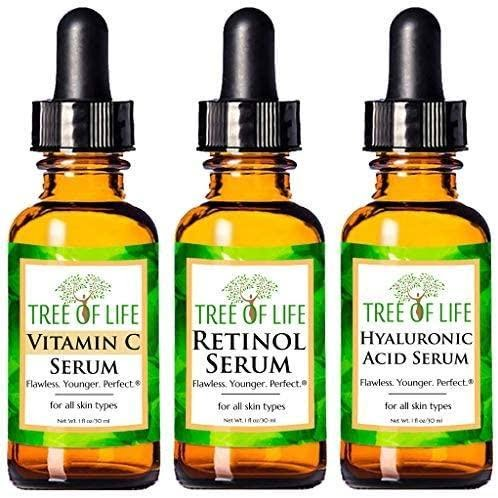 Anti Aging Serum 3-Pack for Face