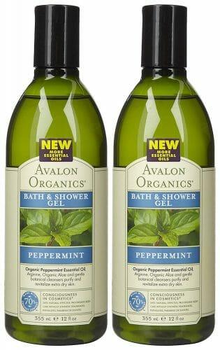 Avalon Organics Refreshing Bath & Shower Gel with Peppermint