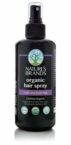 Nature's Brands Organic Hair Spray