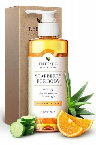 Sensitive Skin Body Wash by Tree to Tub