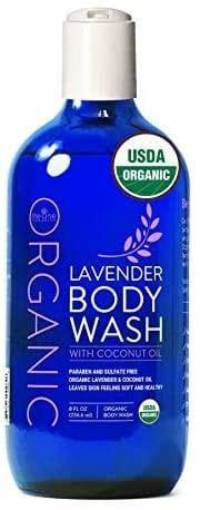 USDA Organic Body Wash Lavender by Be-One Organics