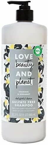 Love Beauty And Planet Delightful Detox Daily Clarifying Shampoo
