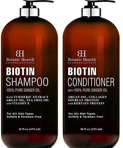 BOTANIC HEARTH Biotin Shampoo and Conditioner Set
