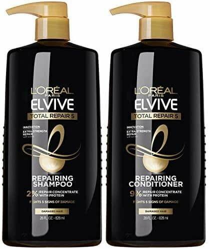 L'Oreal Paris Elvive Total Repair 5 Repairing Shampoo and Conditioner