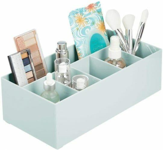 mDesign Plastic Cosmetic Organizer Storage Center