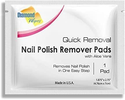 Diamond Wipes Nail Polish Remover Pads
