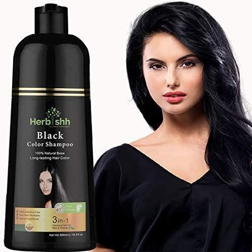 Herbishh Hair Color Shampoo for Gray Hair