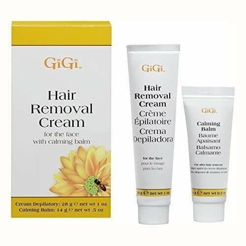 GiGi Facial Hair Removal Cream Calming Balm Set